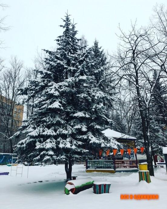 Одинцово фото зимой